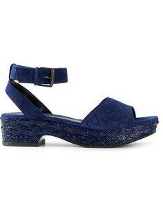 Bottega Veneta Intrecciato Sandals - Luisa World - Farfetch.com