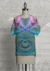 From the Bill M. Tracer Collection at VIDA: Intertwining: Applied to the Modern Tee. Sweet product! NOTE: Each piece is uniquely designed and custom-printed, and may vary slightly upon receipt.