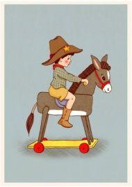 Belle & Boo `Kaart Donkey`