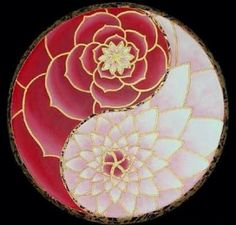 don't love the yin yang, but the mandala style peony flower is beautiful. Arte Yin Yang, Ying Y Yang, Yin Yang Art, Mandala Tattoo Design, Tattoo Designs, Tattoo Heaven, Yen Yang, Yin Yang Tattoos, Geniale Tattoos