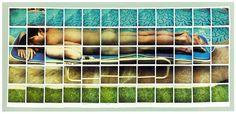 Risultati immagini per hockney polaroid
