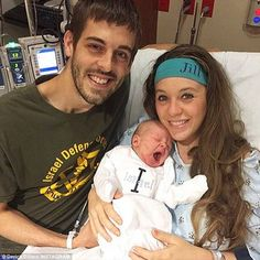 Jill (Duggar) and her husband Derrick Dillard of 19 Kids and Counting welcomed a new baby into the family this week. His name? Israel. And check out that Israel Defense Forces shirt Derrick is wearing.   Mazel tov to the new parents!