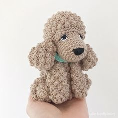 Made to Order COCKAPOO crochet amigurumi Half Double Crochet, Single Crochet, Yarn Dolls, Cockapoo Puppies, Crochet Abbreviations, Doll Eyes, Types Of Yarn, Sewing Basics, Yarn Needle