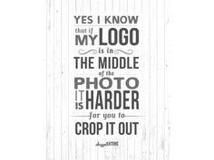 Shoppe Satire Printable ~ Logo Placement