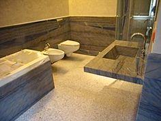 bagno in granito azul macaubas design e realizzazione by blancomarmo.it