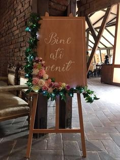 Sevalet floral pentru nunta/botez
