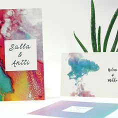 Cards in any size with multiple paper options. We would like to help you with the design too! Watercolor Design, Paper, Cards, Products, Maps, Playing Cards, Gadget
