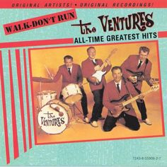 """""""Walk - Don't Run"""" by The Ventures was added to my Discover Weekly playlist on Spotify"""