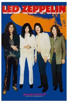Led Zeppelin Japanese Tour Poster 1971