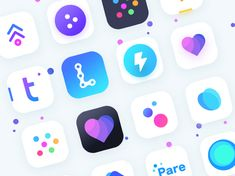 "查看此 @Behance 项目:""App icons collection 1""https://www.behance.net/gallery/58330973/App-icons-collection-1"