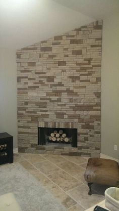 Airstone Fireplace!! 20 hrs of work