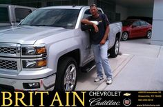 "https://flic.kr/p/usabUN | #HappyAnniversary to Charles Snow on your 2014 #Chevrolet #Silverado 1500 from Steve Ragan at Britain Chevrolet Cadillac! | <a href=""http://www.britainchevy.com/?utm_source=Flickr&utm_medium=DMaxx_Photo&utm_campaign=DeliveryMaxx"" rel=""nofollow"">www.britainchevy.com/?utm_source=Flickr&utm_medium=DM...</a>"