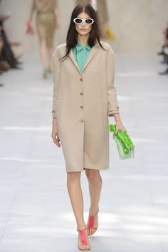 The Burberry Prorsum Spring 2014 RTW Collection, Floral, and Exquisite