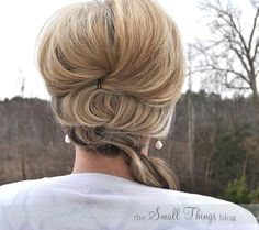 The Small Things Blog: Fancy Side Pony