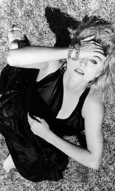 Madonna shot by Herb Ritts for @InterviewMag 1985