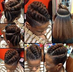 Pretty Flat Twist Updo- Pretty Flat Twist Updo Pretty Flat Twist Updo – Black Hair Information Community - Natural Hair Updo, Pelo Natural, Natural Hair Journey, Natural Hair Care, Natural Hair Styles, African Hairstyles, Braided Hairstyles, Cool Hairstyles, Protective Hairstyles