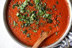 Marinara Recipe, Marinara Sauce, Easy To Cook Meals, Meals In A Jar, Sauce Recipes, Pasta Recipes, Cooking Recipes, Italian Entrees, Italian Recipes