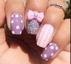 Fab polka dot nails and nail art inspirations