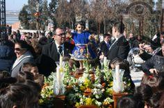 Los pequeños cinteros procesionaron al Niño Jesús