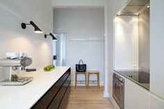 Louis Poulsen - AJ Royal Wall Lamp: The AJ Royal Wall Lamp by Arne Jacobsen for Louis Poulsen in our Online Shop Arne Jacobsen, Espresso Kitchen Cabinets, Danish Interior, Modern Interior, Interior Design, Drawer Shelves, Pantry Design, Deco Design, Design Shop