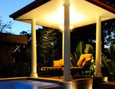 At Scenic Blue Design, we work with you every step of the way to deliver an original, personal, and stunning garden. Resort Style, Blue Design, Garden Design, Pergola, This Is Us, Landscaping, Gardens, Outdoors, Outdoor Structures