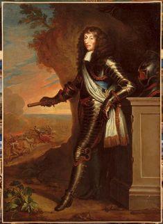 Justus Van Egmont | Portrait de Louis II de Bourbon dit Le Grand Condé (1621-1686) | Images d'Art