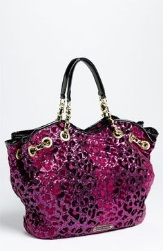 Betsey Johnson 'Cheetah Cinch' Tote (Online Exclusive) available at #Nordstrom, They are out!!!! :(