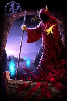 Wraith Ferryman ~ Tom Wood