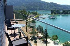 Hotel PARKHOTEL Pörtschach, Austria Holidays Around The World, Around The Worlds, Carinthia, Park Hotel, Grand Hotel, Outdoor Furniture, Outdoor Decor, Austria, Patio