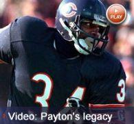 Chicago Bears   Walter payton