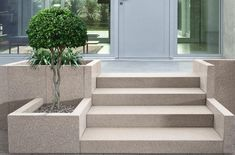 Landscape Design Plans, Landscape Architecture Design, House Landscape, Casa Patio, Patio Steps, Garden Stairs, Outdoor Stairs, Backyard Pool Designs, Modern Landscaping