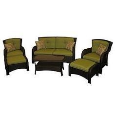 La Z Boy Griffin Collection Patio Set 6 Piece Canadian Tire