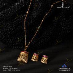 Pearl Jewellery Pendant Set gms) - Fancy Jewellery for Women by Jewelegance Gold Jewelry Simple, Gold Rings Jewelry, Pearl Jewelry, Indian Jewelry, Jewelry Design Earrings, Pendant Jewelry, Small Earrings, Pendant Set, Fancy Jewellery