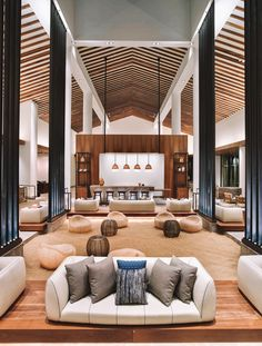 Hotel lounge seating architecture 68 new Ideas Lobby Interior, Home Interior Design, Interior Architecture, Luxury Interior, Hotel Lobby Design, Casa Hotel, Hotel Lounge, Lobby Lounge, Lounge Design