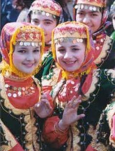 Talysh Girls in traditional Dresses. Talysh People are ethnic Iranians and 800.000 of them live in the Republican of Azerbaijan. Another 500.000-750.000 Talysh People live in Iran.