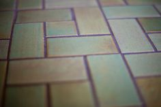 Our Craftsman square tile celebrates horizontal lines and landscape-inspired color palettes. Discover the unique appearance of handmade Craftsman style tiles. Installing Tile Floor, Ceramic Floor Tiles, Craftsman, Flooring Installation, Projects To Try, Tile Flooring, Ceramics, Handmade Ceramic, Mosaics