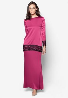 Kebaya, Fashion Ideas, Dresses For Work, Couture, Traditional, Formal, Lace, Long Sleeve, Modern