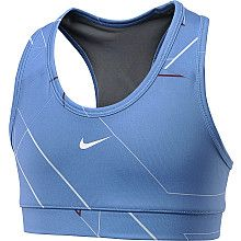 NIKE Girls' Pro Printed Sports Bra - SportsAuthority.com. Can't forget my daughter-- cheerleaders and dancers need support! :) (she would be mortified if she reads this!)