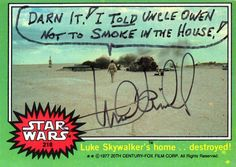 Mark Hamill's Autographs are a Hilarious Trip into the Mind of an Icon | Nerdist