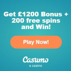 Get 200 FREE spins and a £1200 welcome bonus with the latest casumo bonus codes