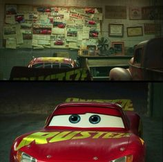 Cars ''All the letters where about you. Racing was not the best part of his life, you were the best part.'' Smokey talking about Doc Hudson. Disney Cars Cake, Disney Cars Party, Disney Pixar Movies, Disney Art, Cars 2006, Ever After Dolls, Car Memes, Lightning Mcqueen, Disney Marvel