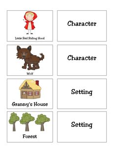 First Grade Funtastic: story elements