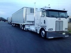 clean Peterbilt cab over