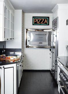 The kitchen of Jill Kargman's New York City apartment.
