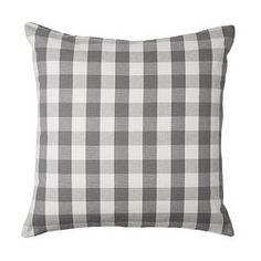 IKEA - SMÅNATE, Kissenbezug, Durch den Reißverschluss lässt sich der Bezug leicht abnehmen.