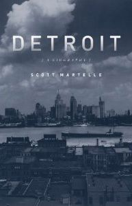 In Detroit: A Biography, journalist Scott Martelle details how the city – felled by one of the great innovations of the industrial era, a grave lack of official foresight and swirling poverty and prejudice – has come to redefine urban collapse.