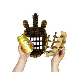 ありがとーたす:亀の甲羅をはずすと中からビールが!父の日用のプレゼント!