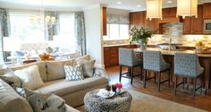 How To: Open Concept Kitchen and Living Room Décor   Homesessive.com