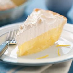 Layered Lemon Pies Recipe -My sister shared this recipe with me and it is simply delicious. The secret to the great flavor is using fresh lemon juice. —Nanette Sorensen, Taylorsville, Utah