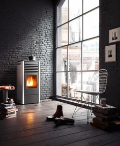 15 best black and white wood pellet stoves and interior design rh pinterest com
